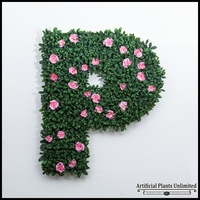 60in.H Living Wall Letter, Outdoor