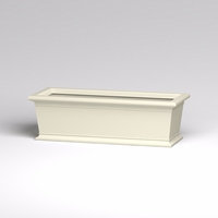 60in.L x 24in.W x 18in.H Prato Rectangular Planter
