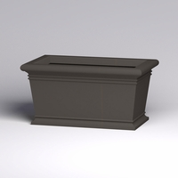 60in.L x 36in.W x 30in.H Prato Rectangular Planter