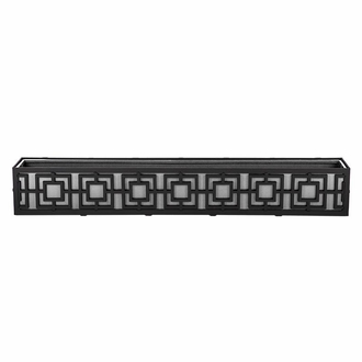 60in. Sofisticato Aluminum Window Box