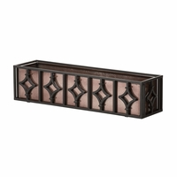 60in Solitaire Window Box Cage w/ Liner