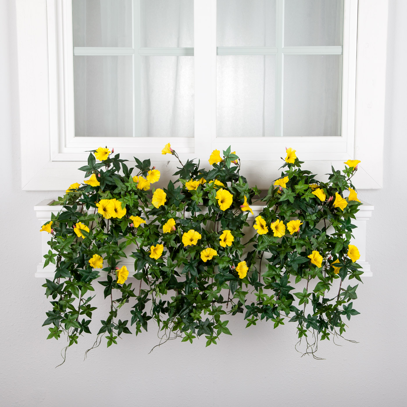 Artificial flowers for window boxes artificial flower arrangements artificial morning glories for window boxes izmirmasajfo