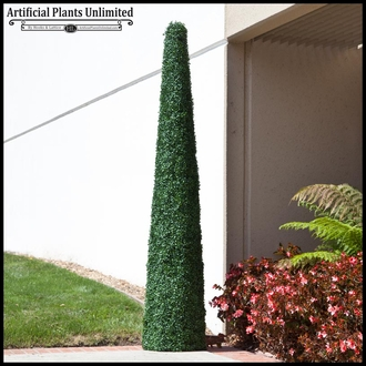 Fire Retardant Artificial Cone Topiaries