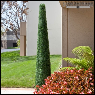 60inH Cone Topiary, Fire Retardant