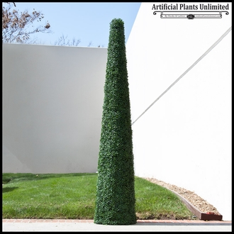 48inH Cone Topiary, Fire Retardant