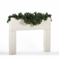 6ft Artificial Mixed Pine Mantel Centerpiece