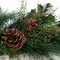 6ft Mixed Pine Cone Berry Garland
