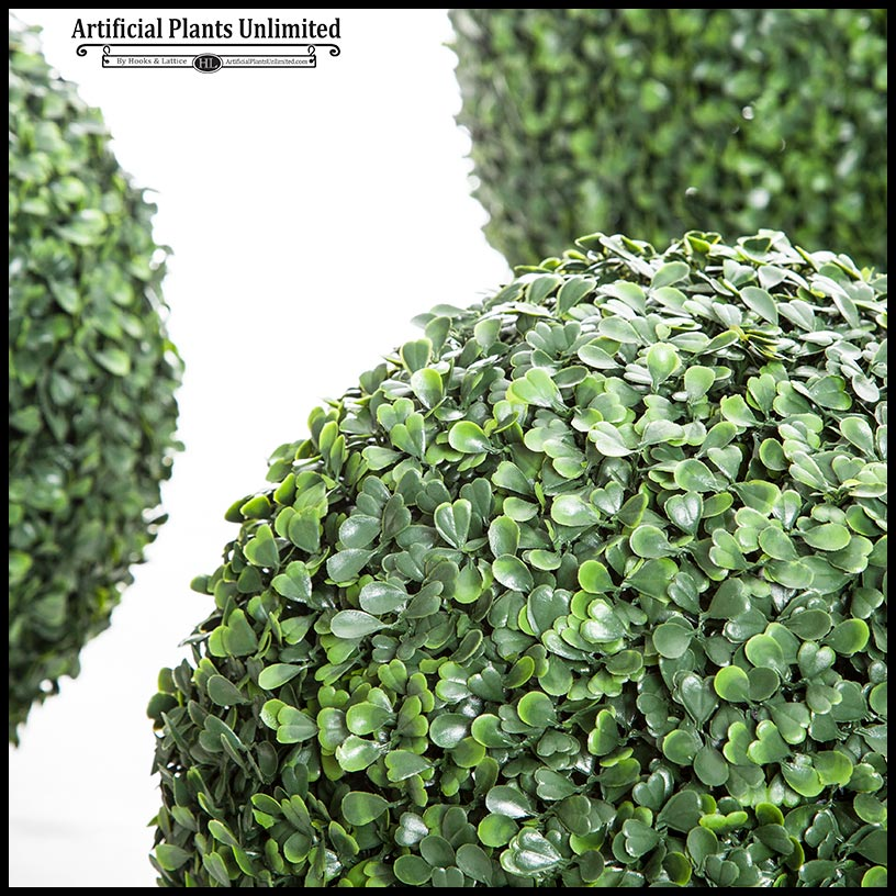 artificial boxwood topiary ball indoor click to enlarge