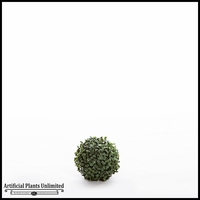 6in. Outdoor Artificial Boxwood Topiary Ball