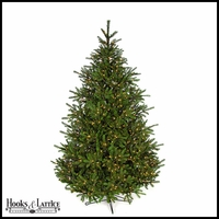 9 ft Elizabeth Pre-Lit Pine Artificial Christmas Tree w/ Clear LED Lights
