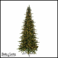 9 ft Russian Pre-Lit Pine Artificial Christmas Tree w/ Warm White LED Lights