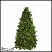 9 ft Douglas Fir Pre-Lit Artificial Christmas Tree w/ Clear LED Lights