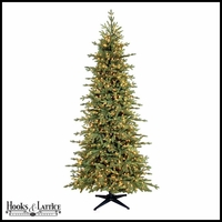 6.5 ft Rutherford Pre-Lit Fir Artificial Christmas Tree w/ Clear Lights