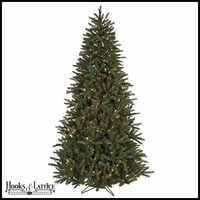 7.5 ft Eastern Pre-Lit Fir Artificial Christmas Tree w/ Multi Color Lights