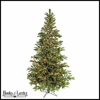 7.5 ft Arizona Pre-Lit Fir Artificial Christmas Tree w/ Clear Lights