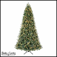 7.5 Ft Minnesota Pre-Lit Spruce Artificial Christmas Tree w/ Clear Lights