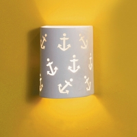 "7"" Anchors Away Themed Children's Sconce"