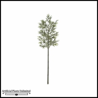 7' Bamboo Tree  - Two Tone Green|Indoor