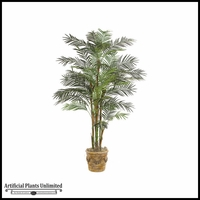 7' Deluxe Reed Palm Tree - Green|Indoor
