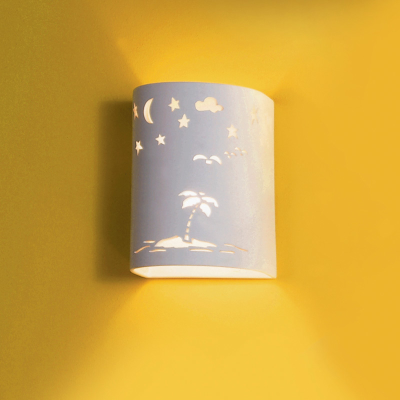 Tropical Indoor Wall Sconces : 7