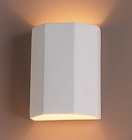 "7"" Three Fold Geometric Wall Sconce"
