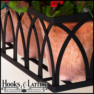 "72"" Arch Window Box Cage"
