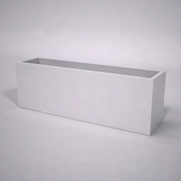 Urban Chic Premier Contemporary Planter 72in.L x 18in.W x 24in.H
