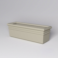 "72""L x 24""W x 24""H Orvieto Rectangle Planter"
