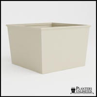 Tuscana Tapered Fiberglass Commercial Planter 72in.L x 72in.W x 48in.H