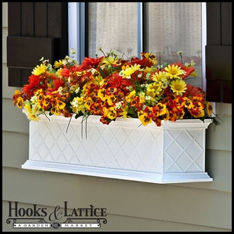 72in. La Fleur Fiberglass Window Box