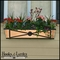 """72"""" Medallion Decora Window Boxes w/ Real Copper Liner"""