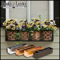 "72"" Orleans Aluminum Window Box"