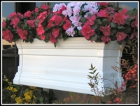 "72"" Royal Vinyl Window Box"
