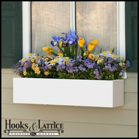 "72""  Urban Chic Premier Direct Mount Window Box Planter"