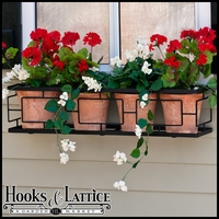 48in. Contemporary Window Box Cage