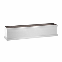 24in. Fiberglass Laguna Deck Planters-Choose from 3 Colors
