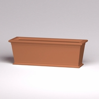72in.L x 24in.W x 24in.H Prato Rectangular Planter