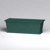 72in.L x 30in.W x 24in.H Prato Rectangular Planter