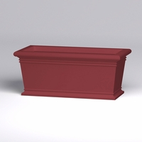 72in.L x 36in.W x 30in.H Prato Rectangular Planter