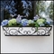 72in. Regalia Decora Window Box with White Galvanized Liner