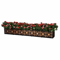 72in. Sofisticato Aluminum Window Box