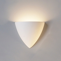 "8.25""  Contemporary Pointed Bowl Sconce"