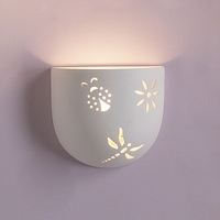 """8.5""""  Tumbler Bowl Wall Sconce w/ Critters"""