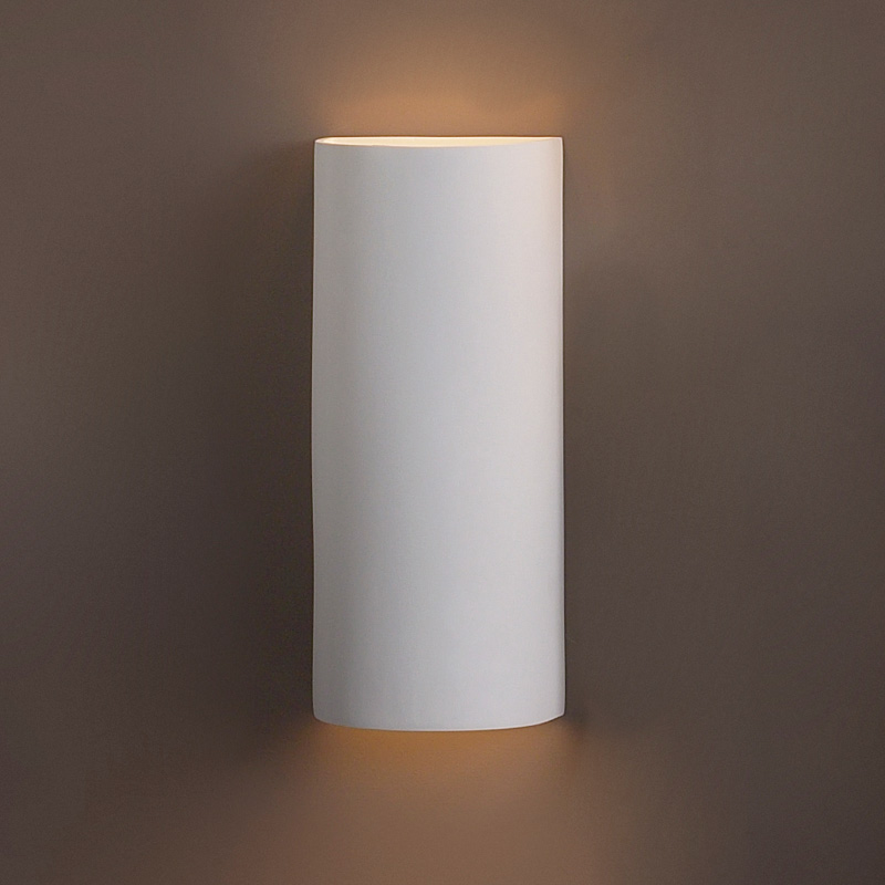 8 5 X 20 Tall Contemporary Cylinder Wall Sconce