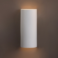 "8.5"" x 20"" Tall Contemporary Cylinder Wall Sconce"