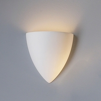 "8.75""  Contemporary Pointed Bowl Sconce"