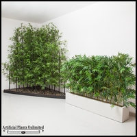 8'H Bamboo Forest Sold by the Square Foot, Indoor