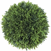 8in. Podocarpus Topiary Balls - Indoor
