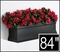 "84"" Black Supreme Fiberglass Window Box"