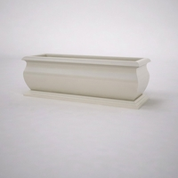"84""L x 30""W x 30""H  Villagio Rectangular Planter"